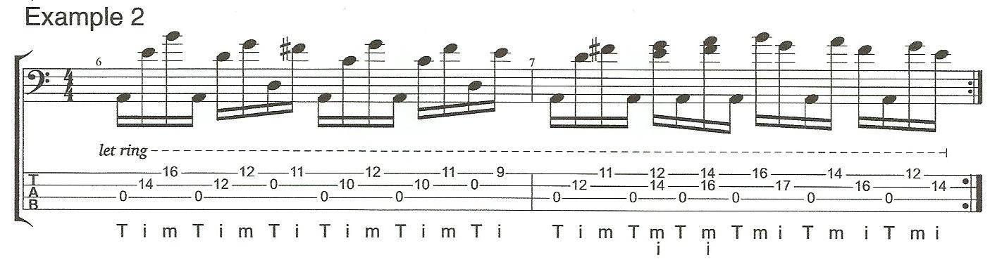 Right Hand Technique Example 2
