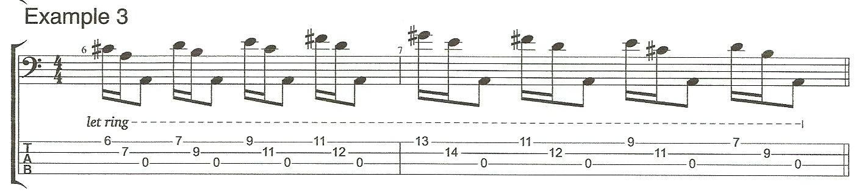 Right Hand Technique Example 3