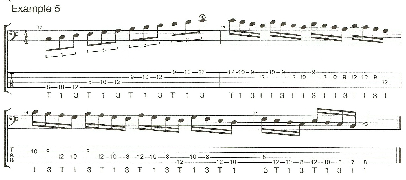 Right Hand Technique Example 5