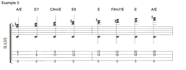 Example 3 Chords on the Bass