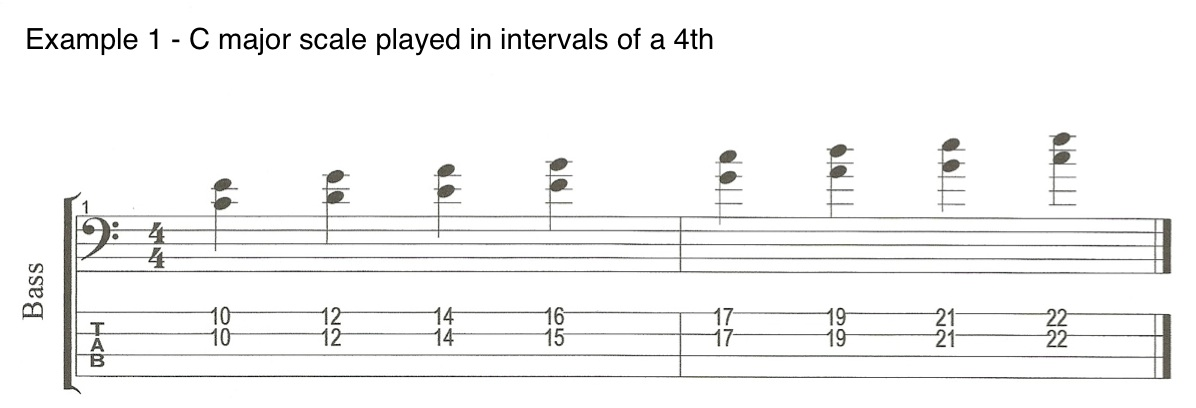 Part 2 Example 1 Chords on the Bass