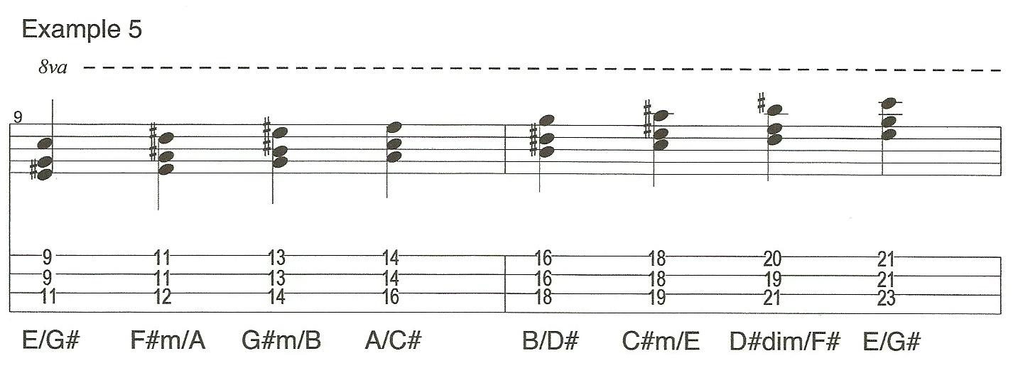 Video 3 Example 5 Triads
