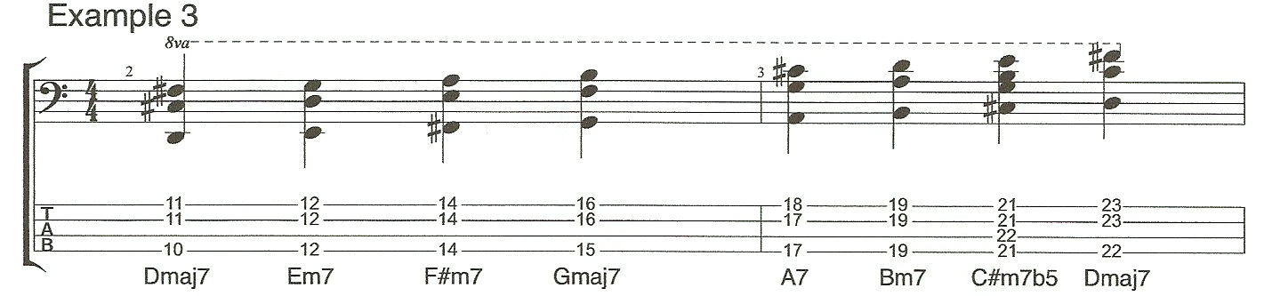 Video 4 Example 3 Chord extensions
