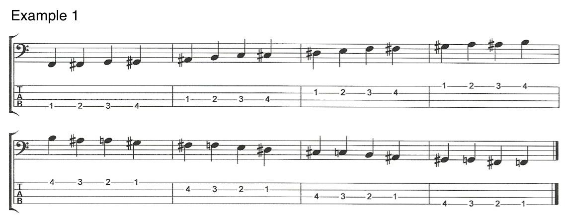 V5E1 Left Hand Techniques for Bass