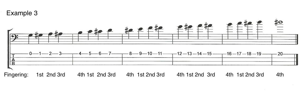 V5E3 Left Hand Techniques for Bass