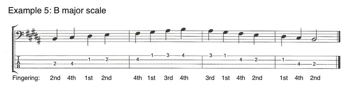 V5E5 Left Hand Techniques for Bass