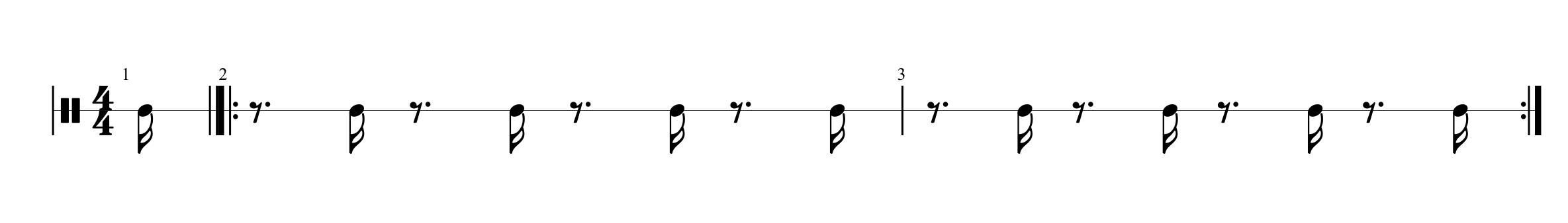 Metronome Displacement