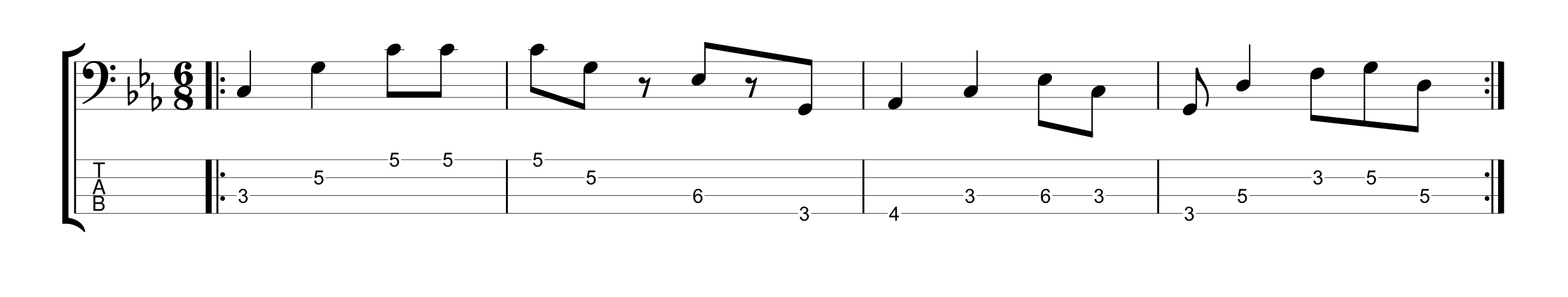 6/8 Time Signature - Example 2