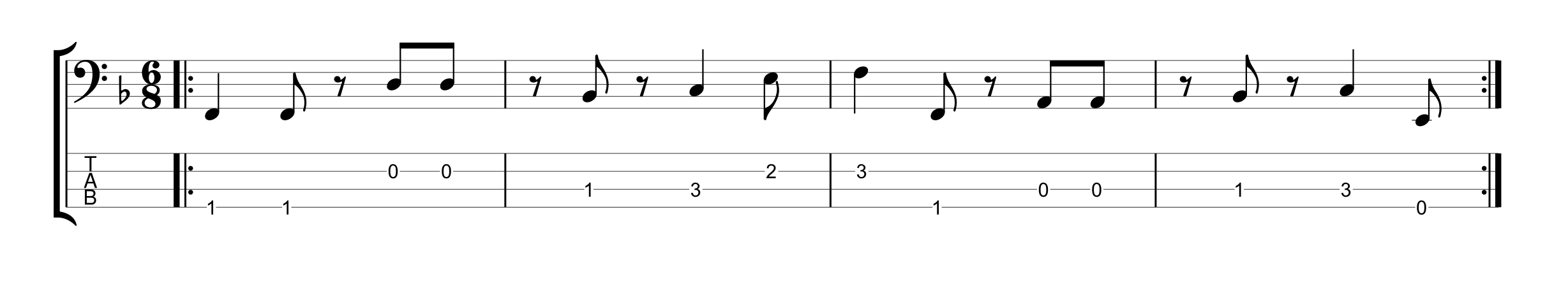 6/8 Time Signature - Example 4