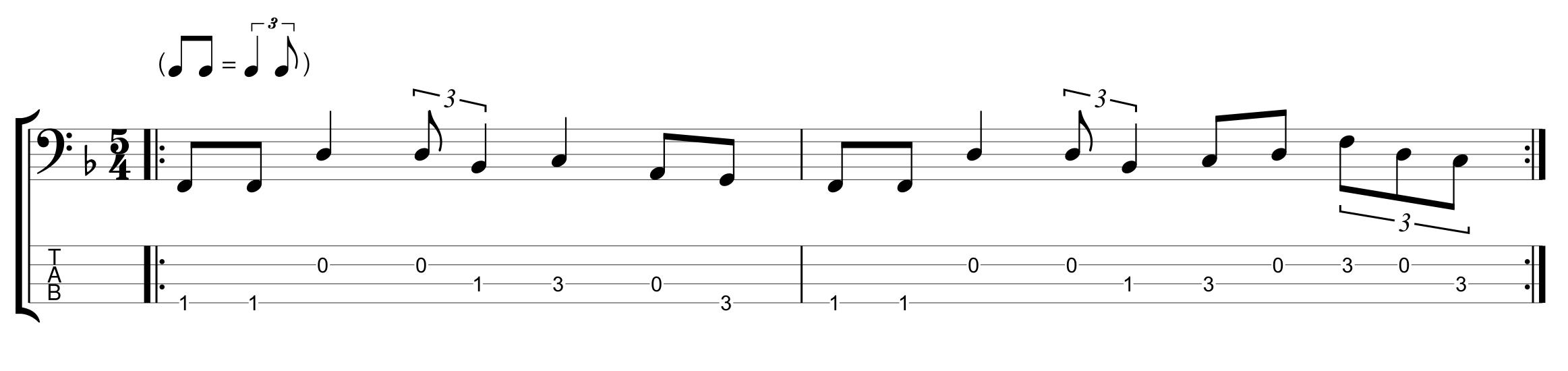 Odd Meter 5/4 Shuffle