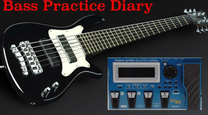 Roland GR-55 and Bass Guitar – Bass Practice Diary 17