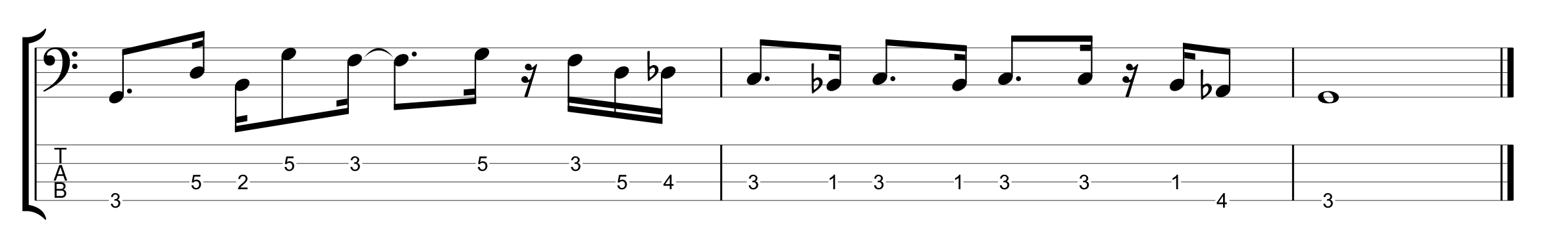 Outside Notes Example 3