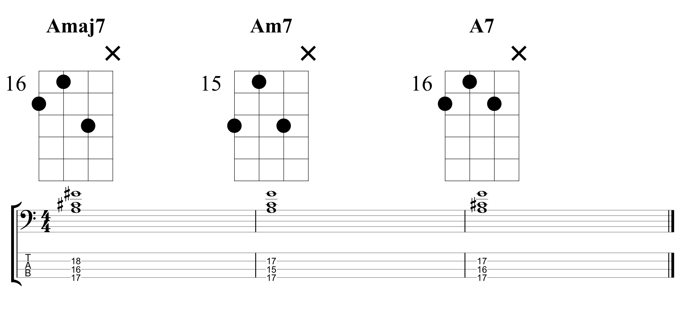 Example 1 Chord Extensions