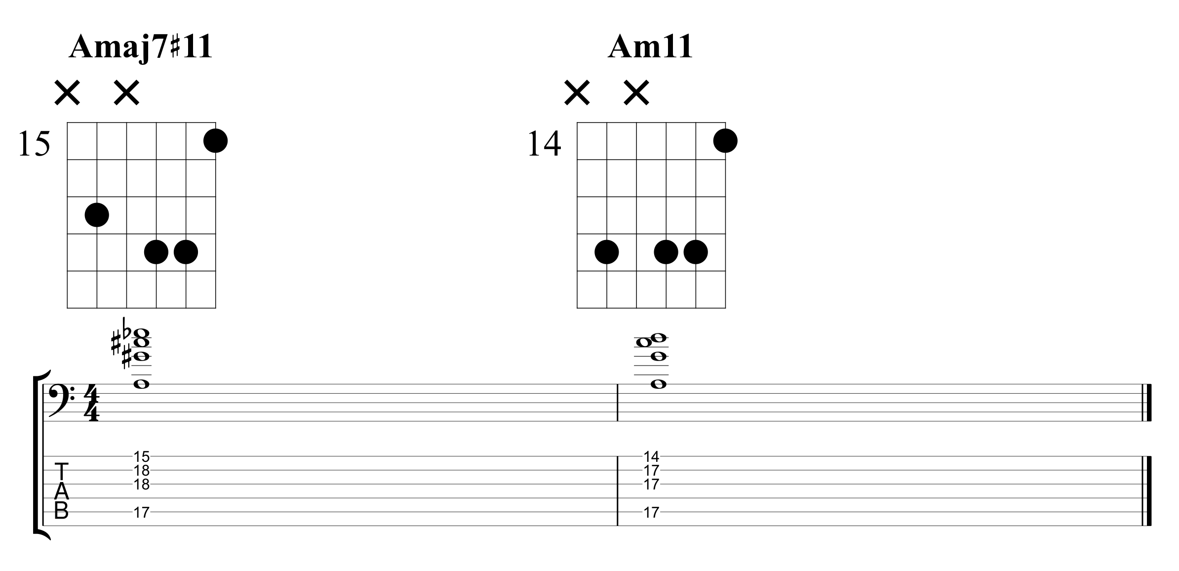 Example 6 Chord Extensions