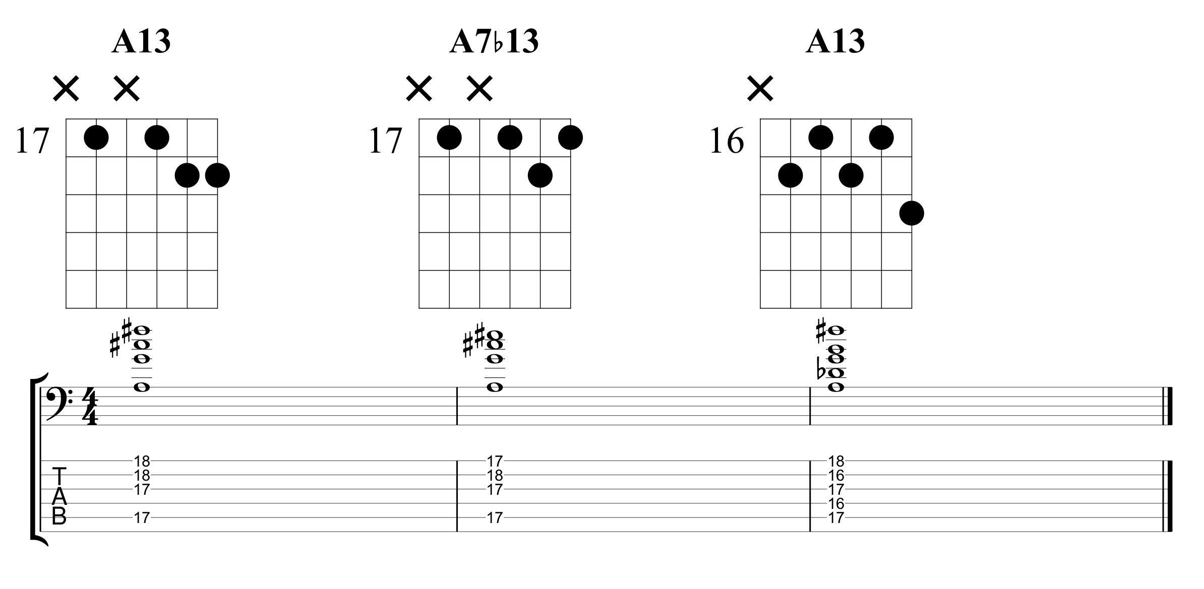 Example 7 Chord Extensions