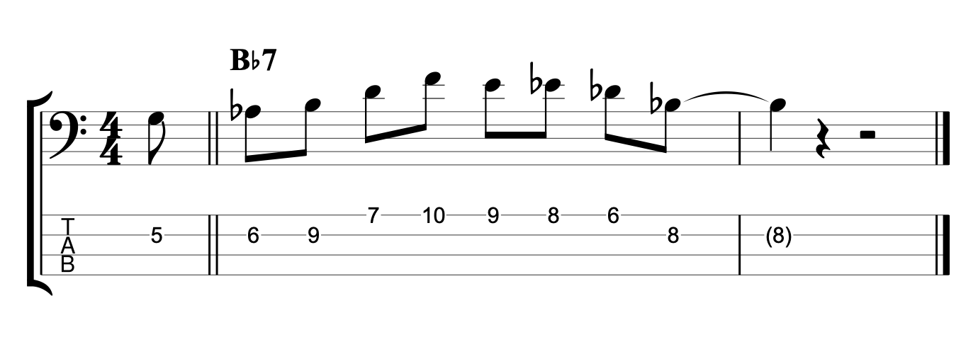 Jazz Blues Lick