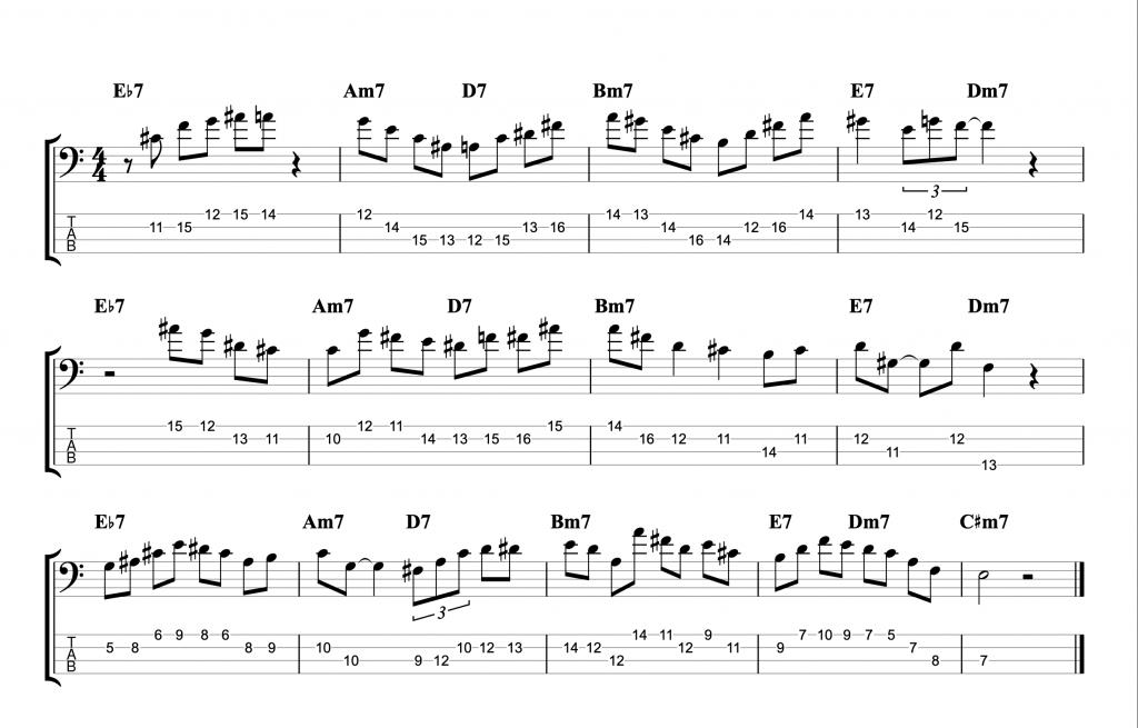Dolphin Dance - Short Melodic Jazz Improvisation Examples