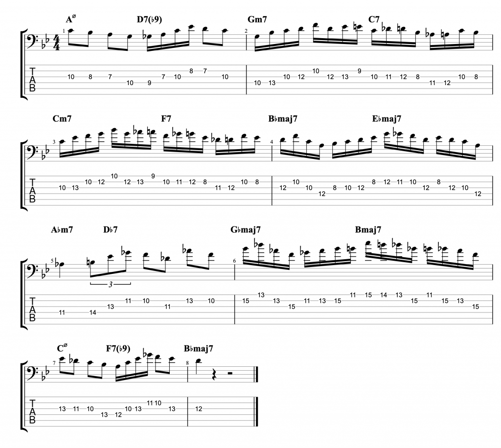 In Your Own Sweet Way - Jazz Vocabulary Exercise