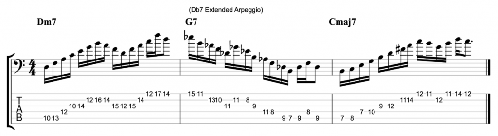 Extended Arpeggios on 6-String Bass