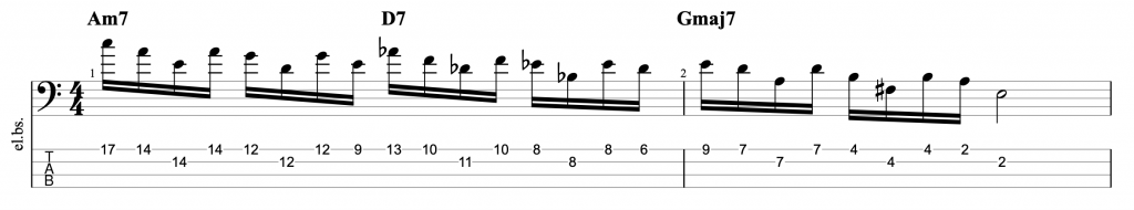 Inside/Outside Pentatonic Jazz Exercise