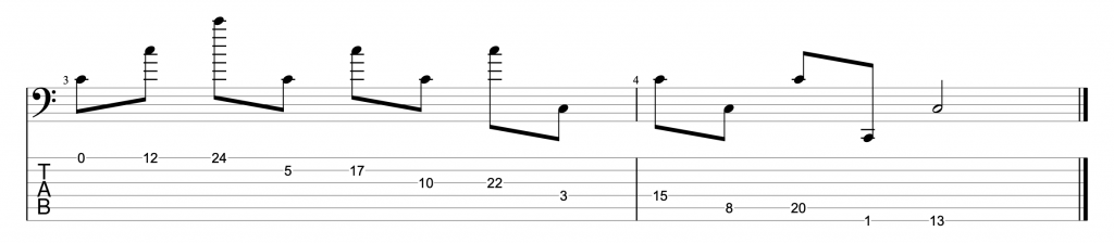 Learning the Fretboard Exercise 2