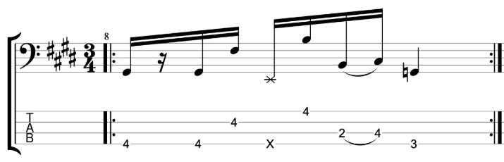 Exercise 1 - Slap Bass Workout