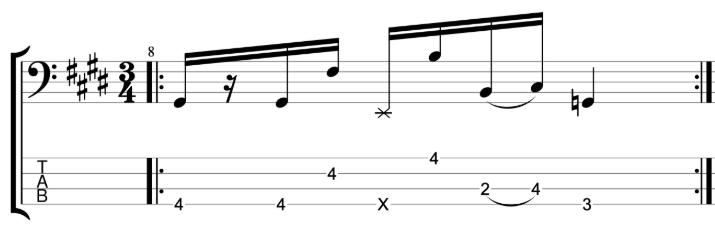 Exercise 1 - Slap Bass Workout