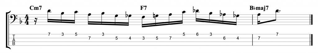 II-V-I Jazz Line
