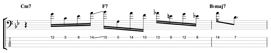 Two-Hand Tapping Jazz Line 2