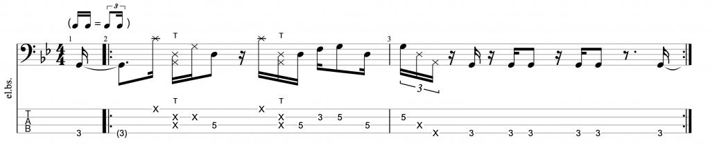 Linley Marthe Bass Groove