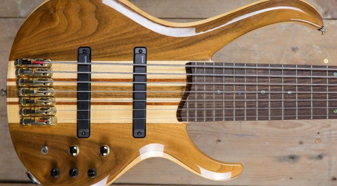 7-String Bass Demo – Ibanez BTB7 Seven String Bass – Bass Practice Diary 159